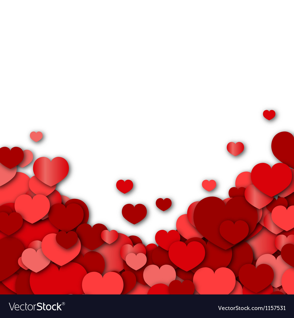 Valentines Day Background Royalty Vector Image 1000x1080