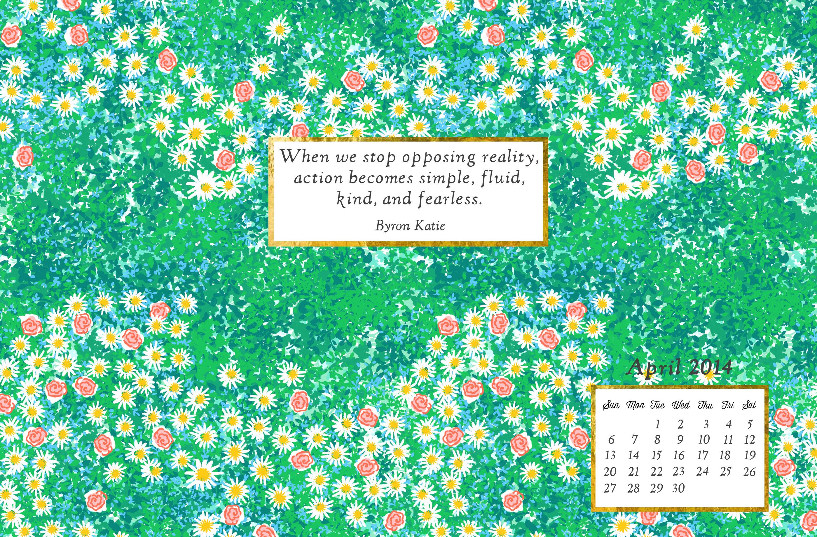 free april wallpaper Jess Lively 2800x1839