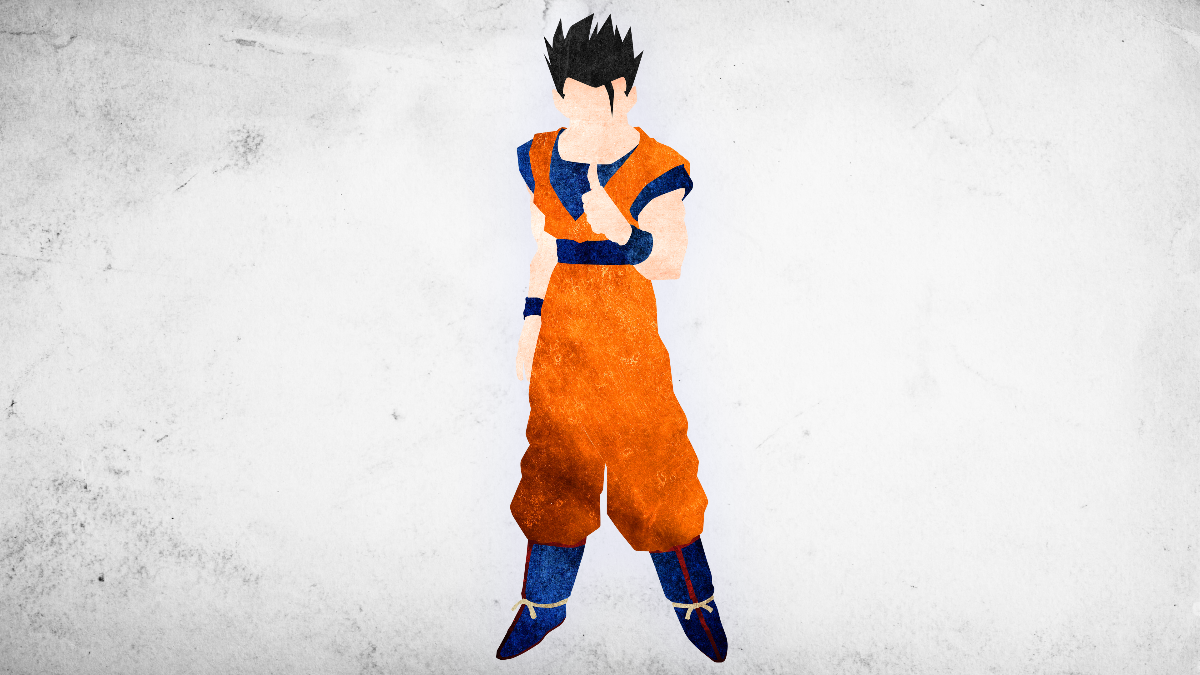 Ultimate Gohan Minimalisitc Wallpaper by KhUnlimited on 3840x2160
