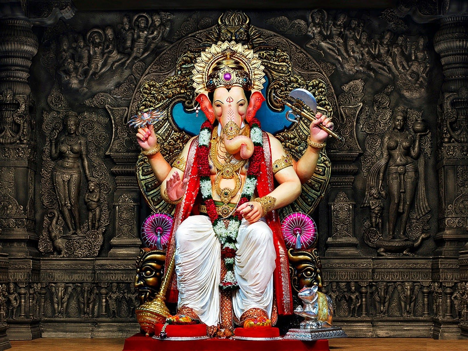 Ganesh Chaturthi Mumbai HD Pictures God figurative in 2019 1600x1200