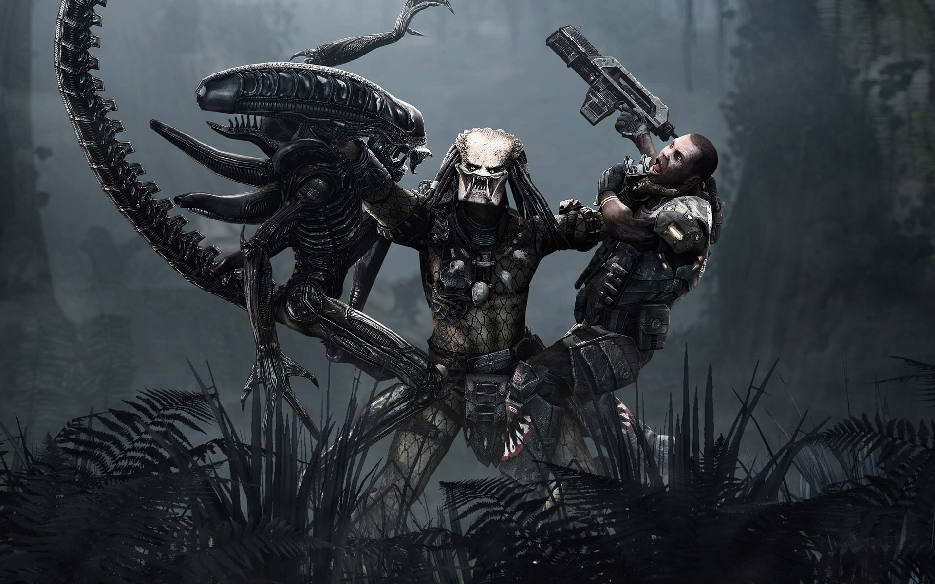 alien vs predator game hd wallpaper 1920x1200 4813 1920x1200