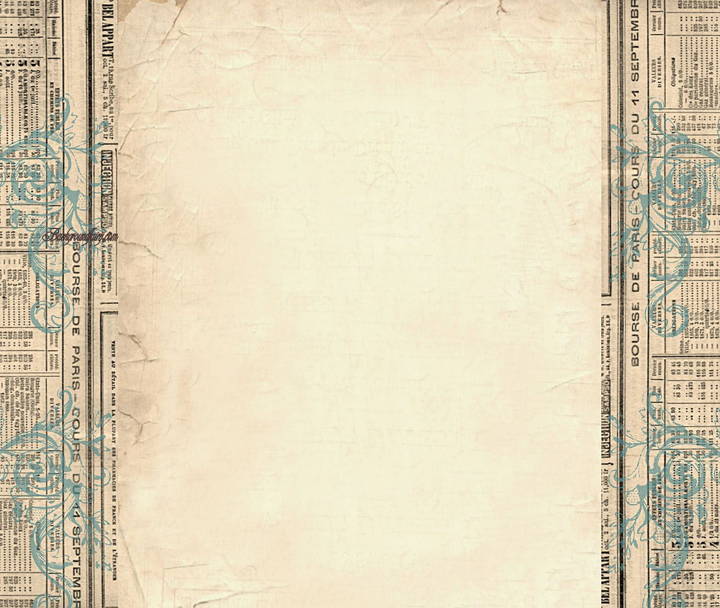 Border Templates Column Blog Background   Vintage 1450x1225