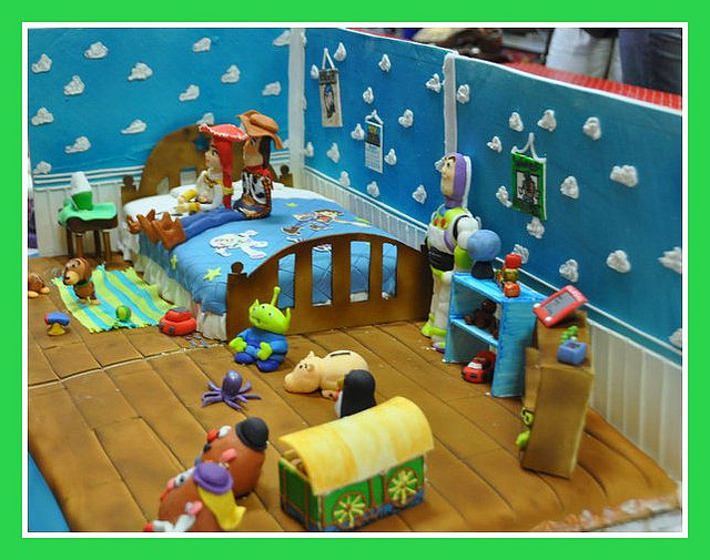 Toy story cake  Andy s room   Flickr   Photo Sharing. Andy s Wallpaper Toy Story   WallpaperSafari