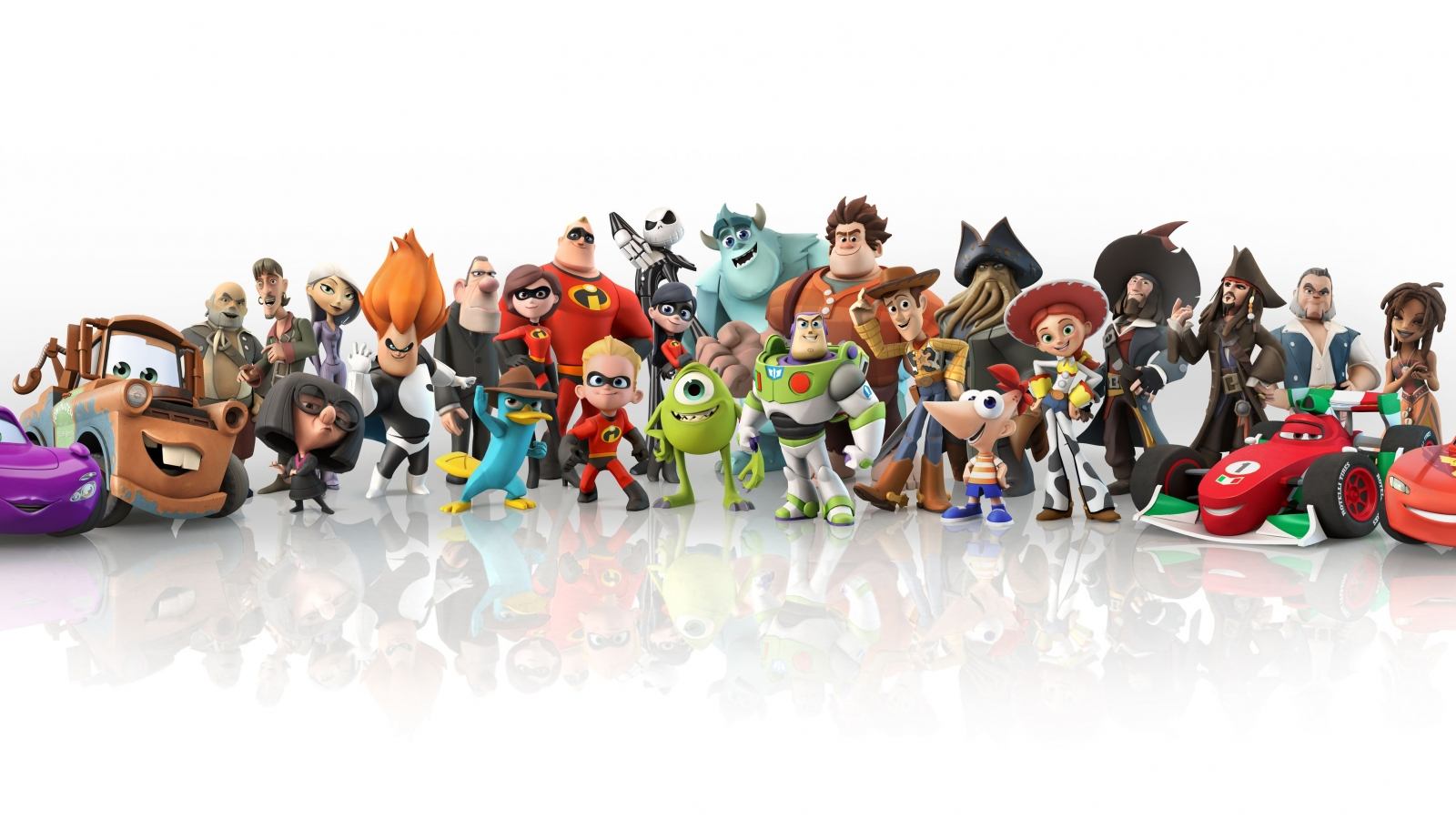 download Disney Pixar Compilation Images HD Wallpaper 1600x900
