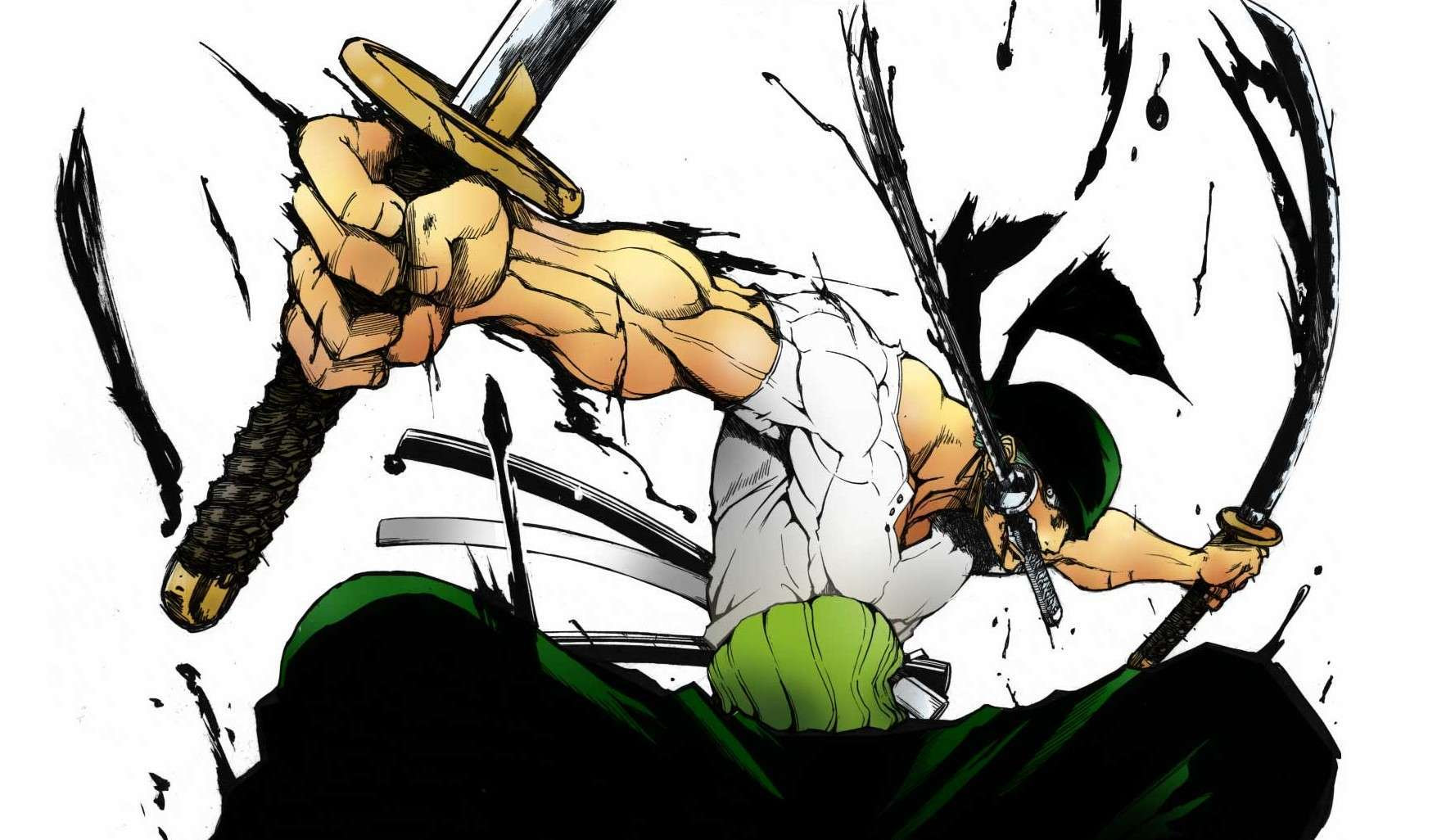 Zoro one piece wallpaper wallpapersafari - One piece logo zoro ...