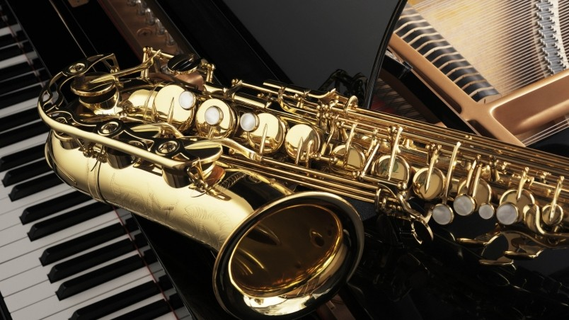 Saxophone and Piano HD Wallpaper   WallpaperFX 804x452