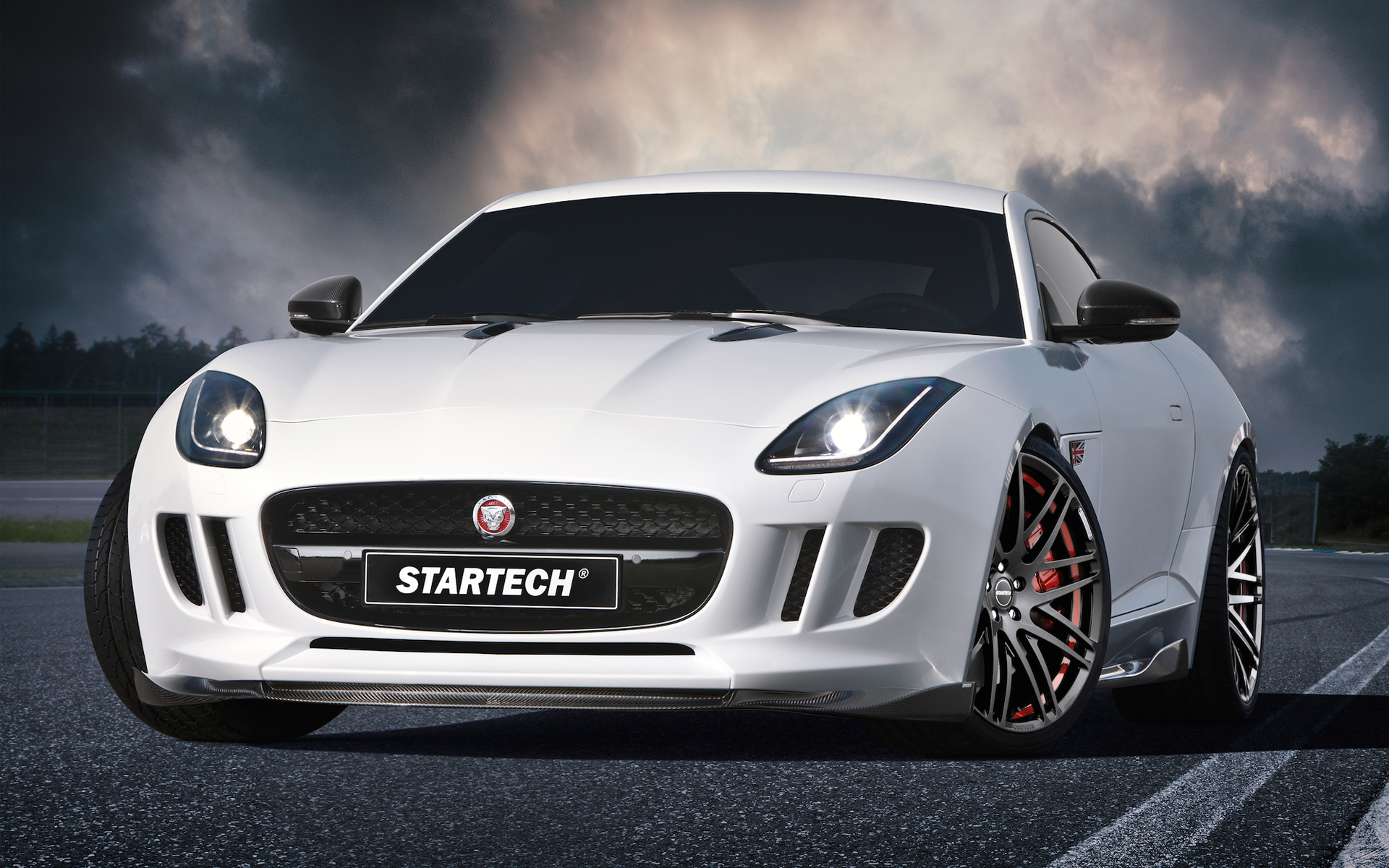 2015 Startech Jaguar F Type Coupe Wallpaper HD Car Wallpapers 1920x1200