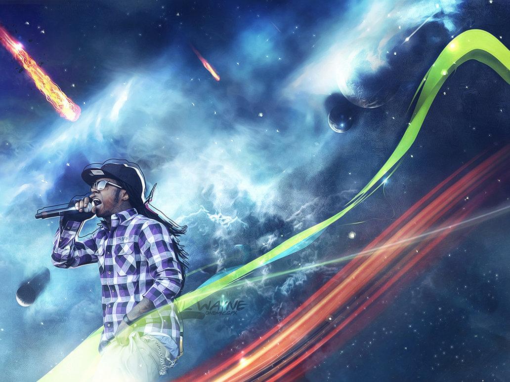 Lil Wayne Wallpaper by onemicGfx 1032x774