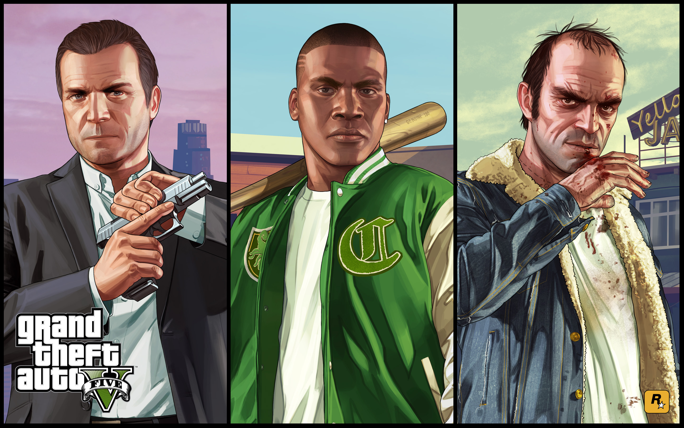 GTA V PS4 and Xbox One Launch Trailer is Up   GTA 5 Cheats 2880x1800