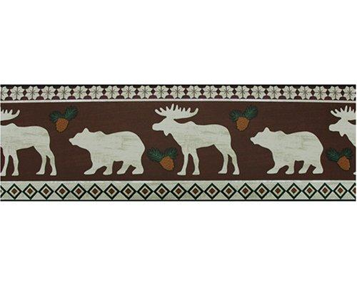 hot Black Bear Lodge wallpaper MOOSE lodge BEAR 500x400