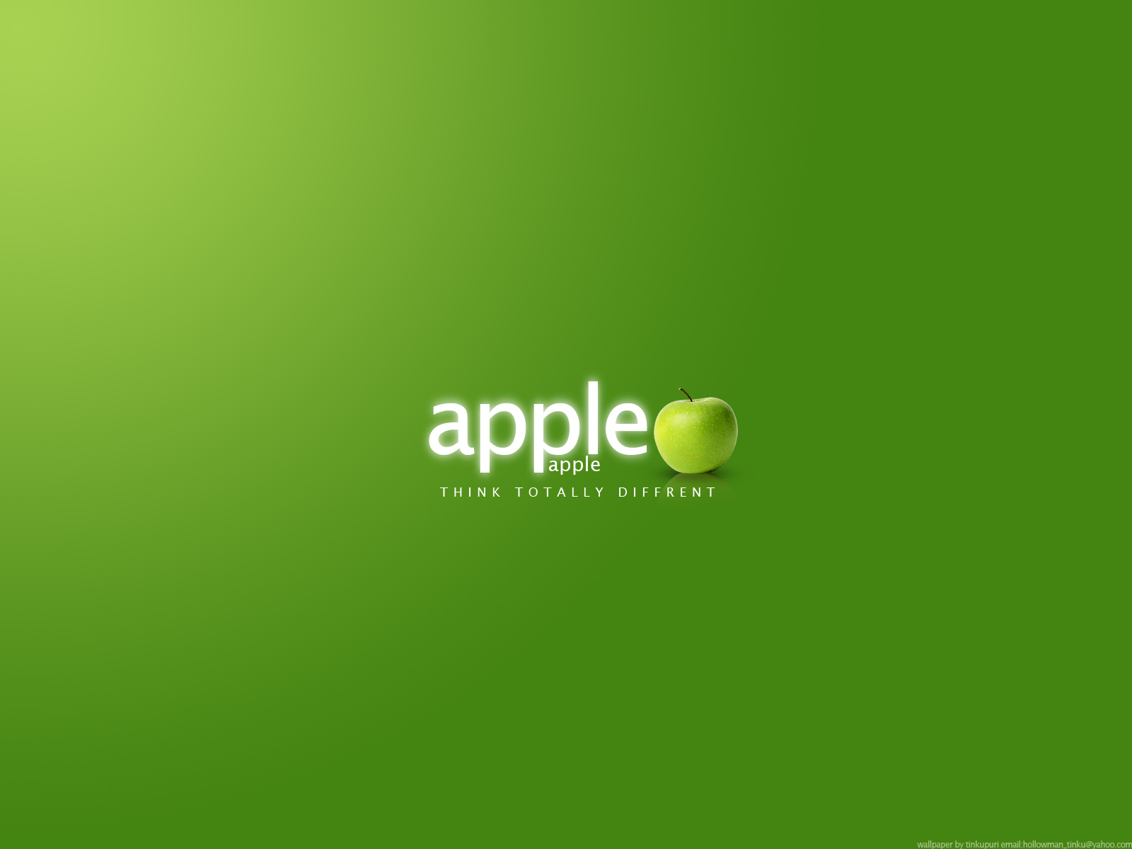 Apple Logo Wallpaper HD Latest Best Wallpapers 2011 1600x1200
