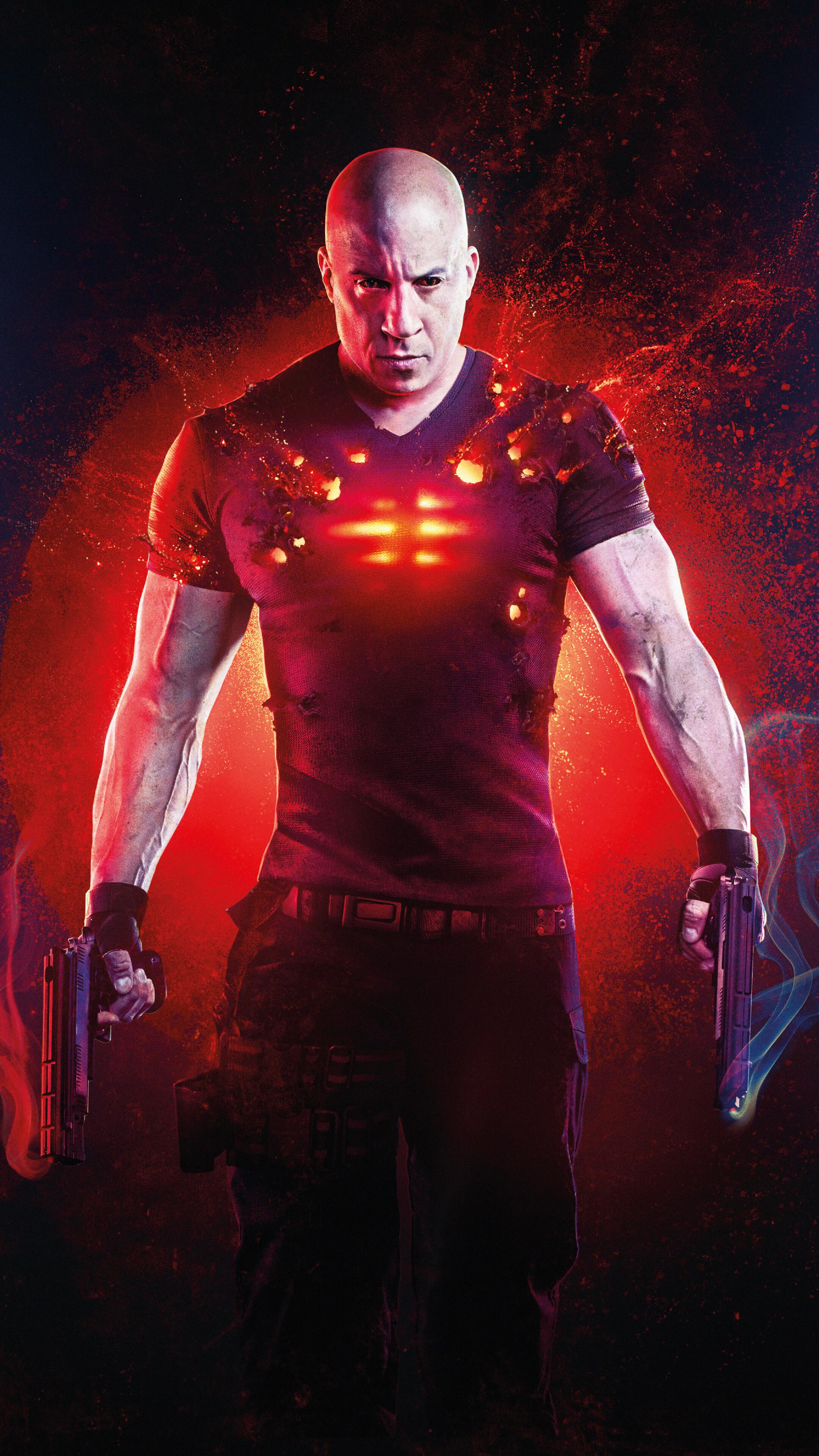 Bloodshot 2020 Movie Poster Vin Diesel 4K Wallpaper 71158 2160x3840