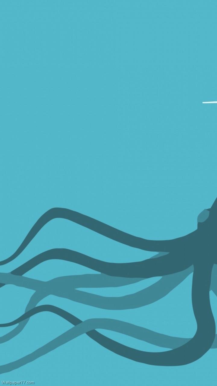 Cute Giant Squid Download Wallpaper