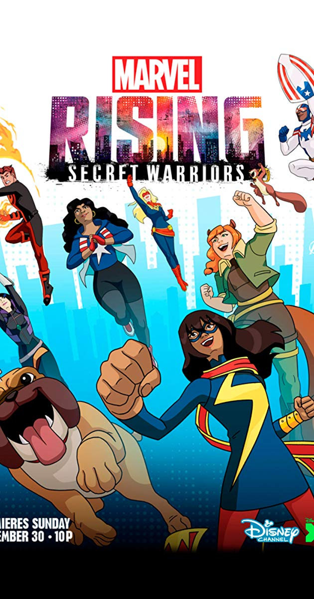 Marvel Rising Secret Warriors TV Movie 2018   IMDb 630x1200