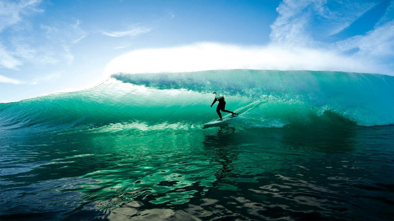 HD Surfing Wallpapers 1366x768