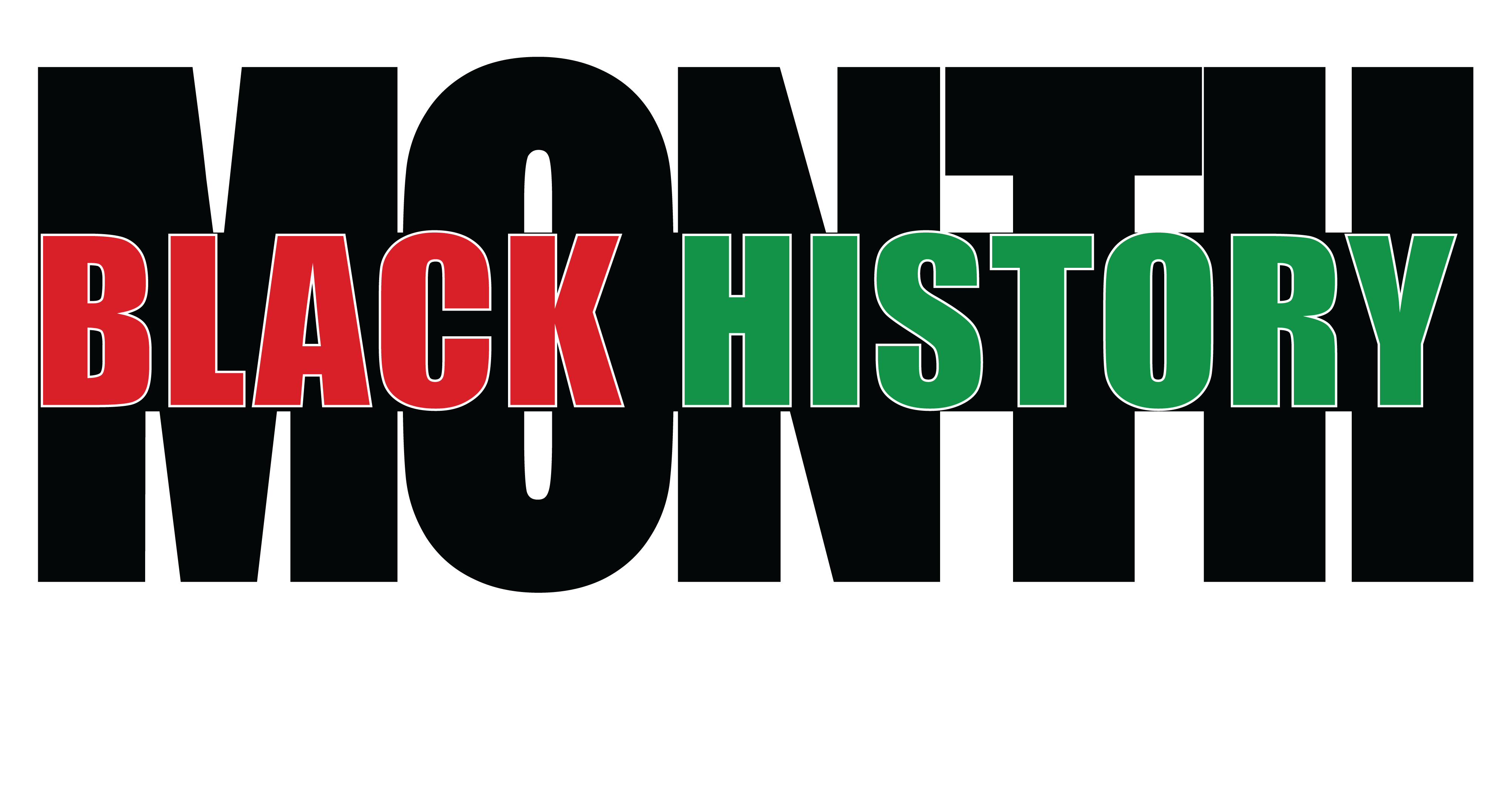 Black History Month 2020 Clipart 4000x2099