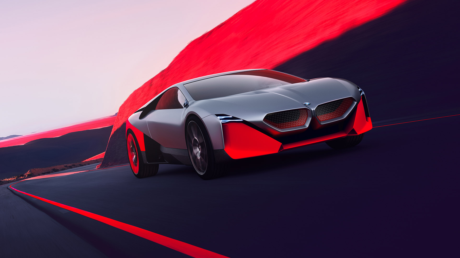 2019 BMW Vision M Next Concept Wallpapers HD Images   WSupercars 1920x1080
