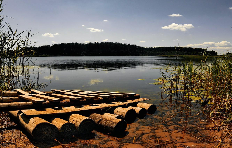 Wallpaper lake shore the raft images for desktop section 1332x850