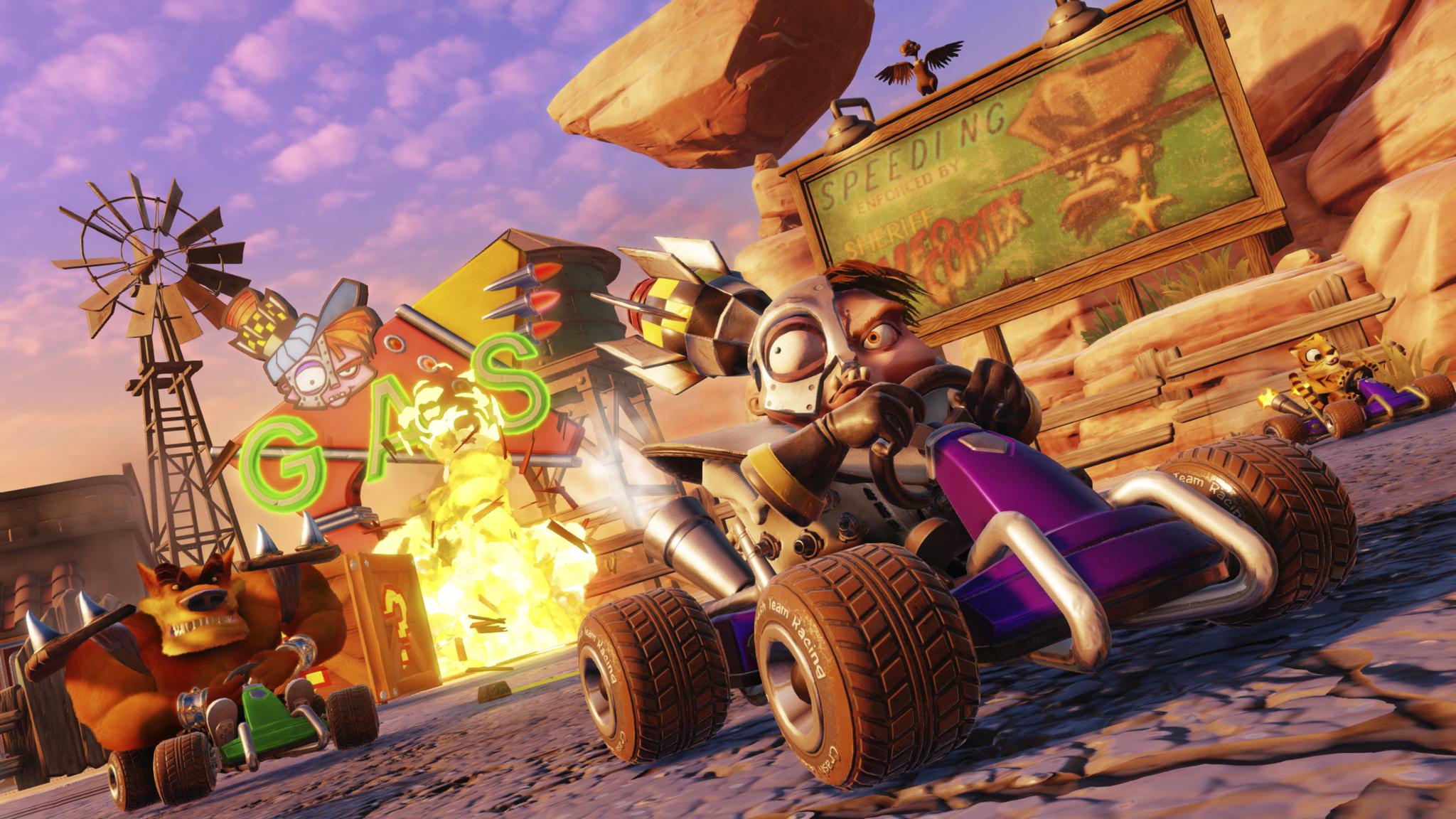 Crash Team Racing Nitro Fueled Delivers 4K Fun Watch Variety 2048x1152
