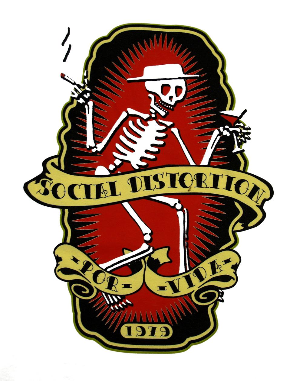 Social Distortion Logo Wallpaper Social distort 1001x1261