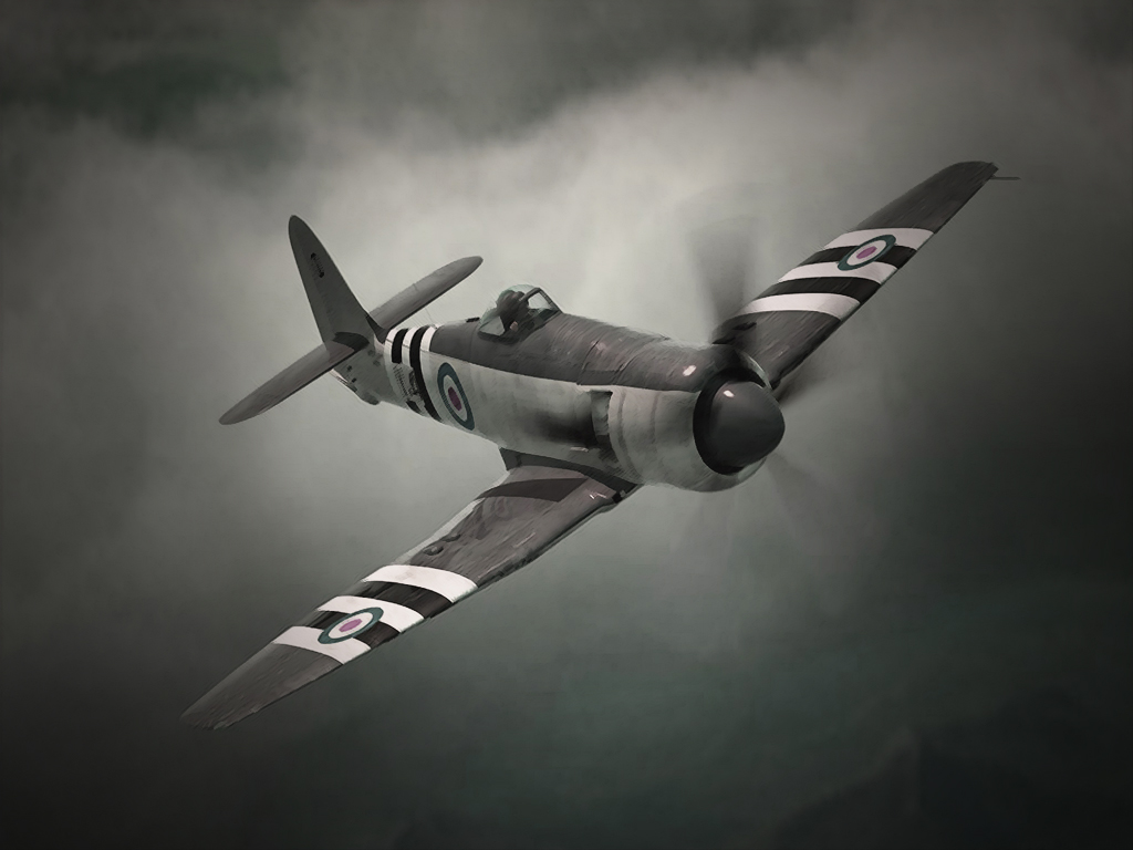 Spitfire wallpaper by JohnnySlowhand 1024x768