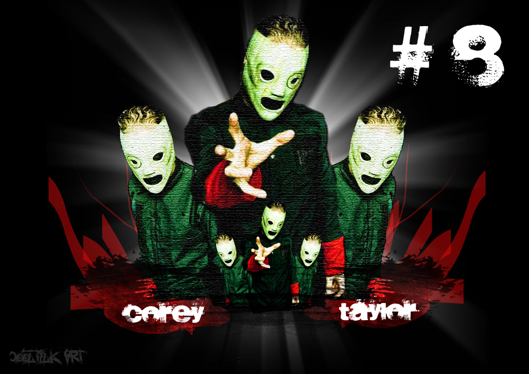 Corey Taylor Wallpaper Corey taylor 8 by cooltilk art 1028x728