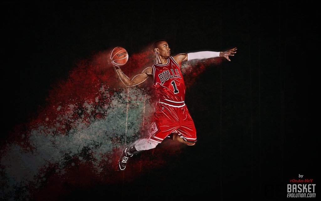 Derrick Rose Wallpaper by rOnAn Ncy 1024x640
