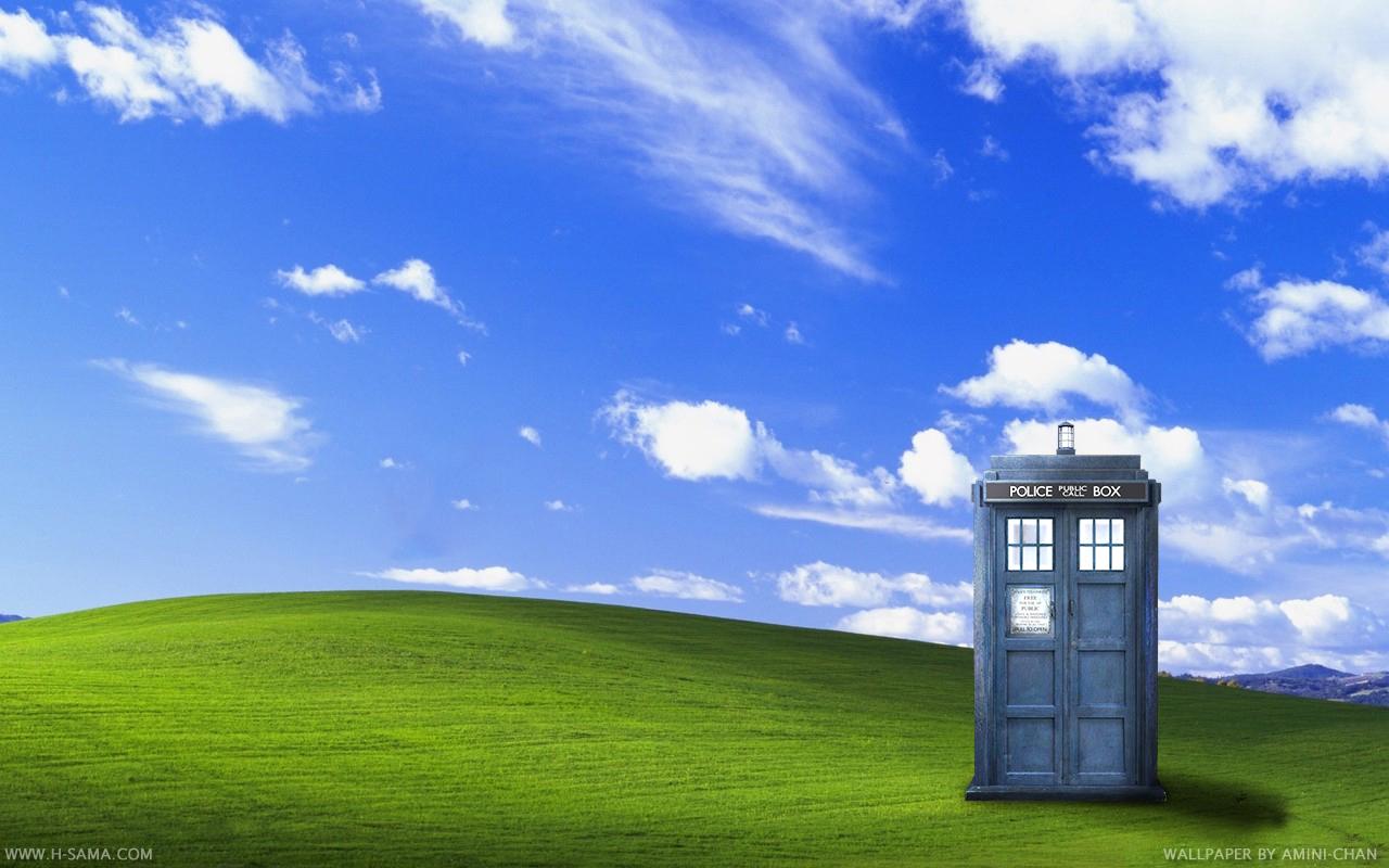 Free Download Wallpaper Area De Trabalho Doctor Who Tardis