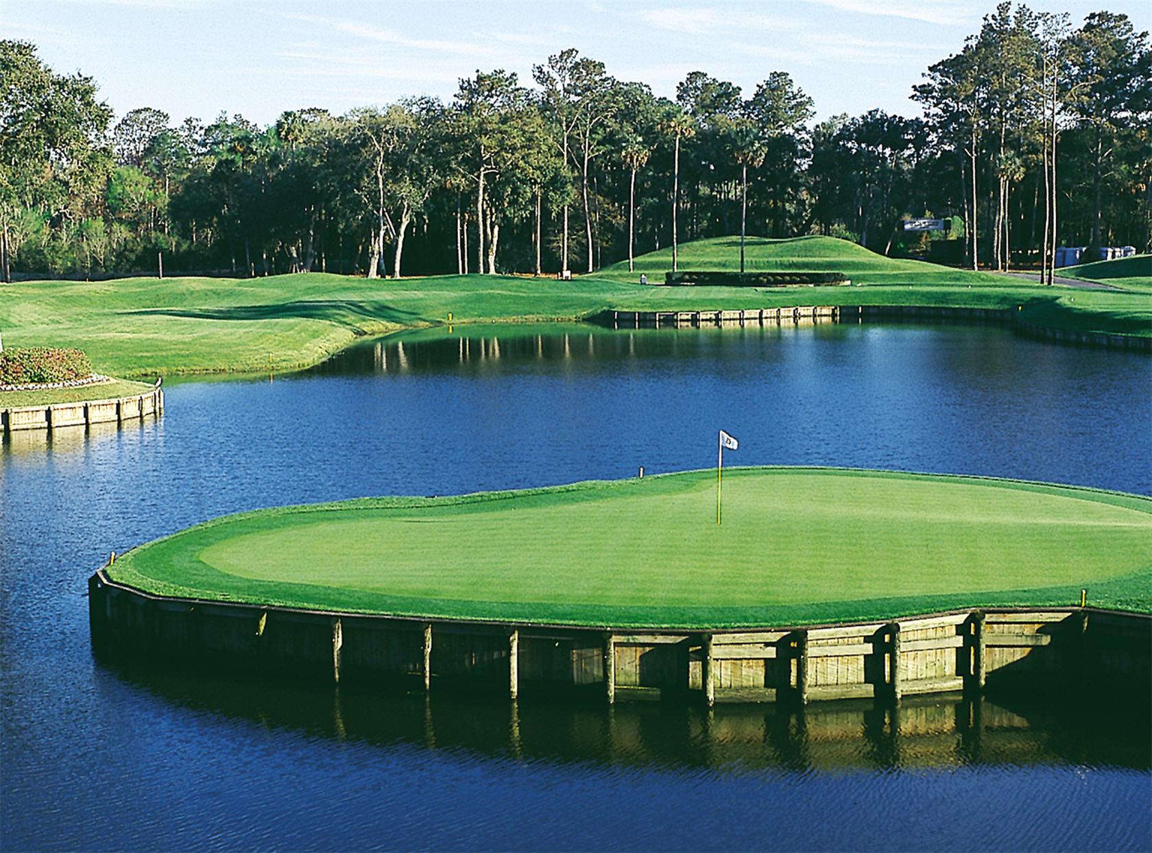 Beautiful Golf Course Desktop Wallpaper