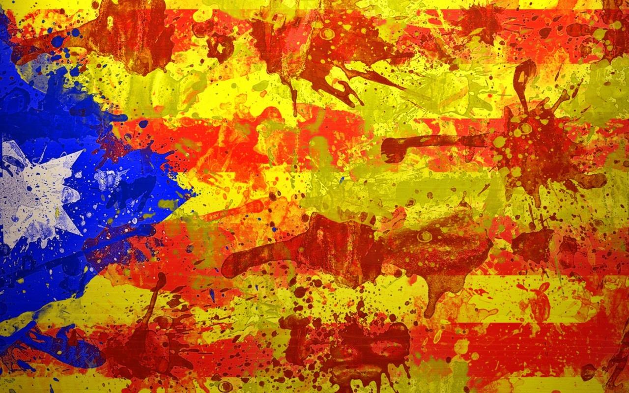 1280x800 Catalan Flag desktop PC and Mac wallpaper 1280x800