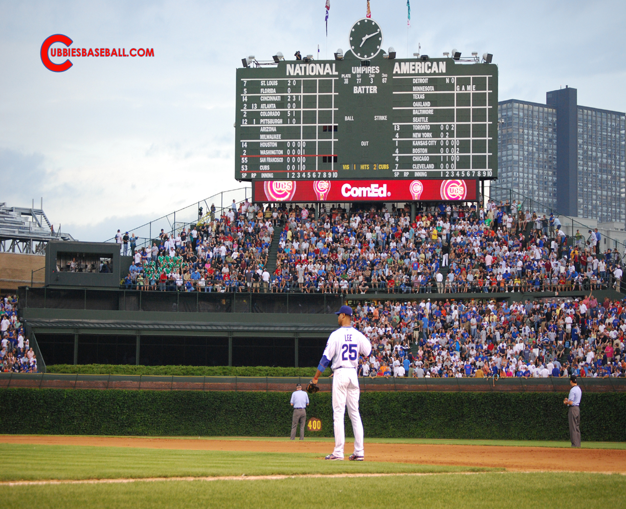 Chicago Cubs Desktop Wallpaper 1280x1040