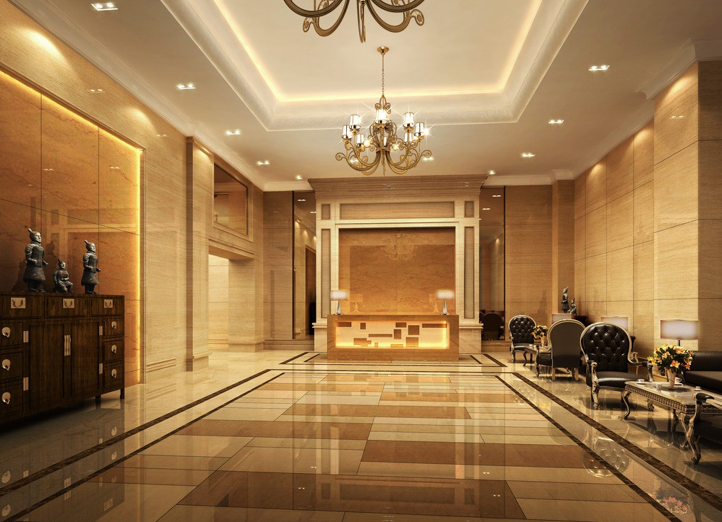 Hotel foyer design 3D house 3D house pictures and wallpaper 1018x737