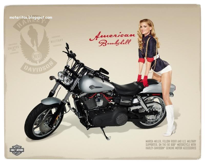 Motos y mujeres resolucin HD Harley Davidson Pin Up 800x640