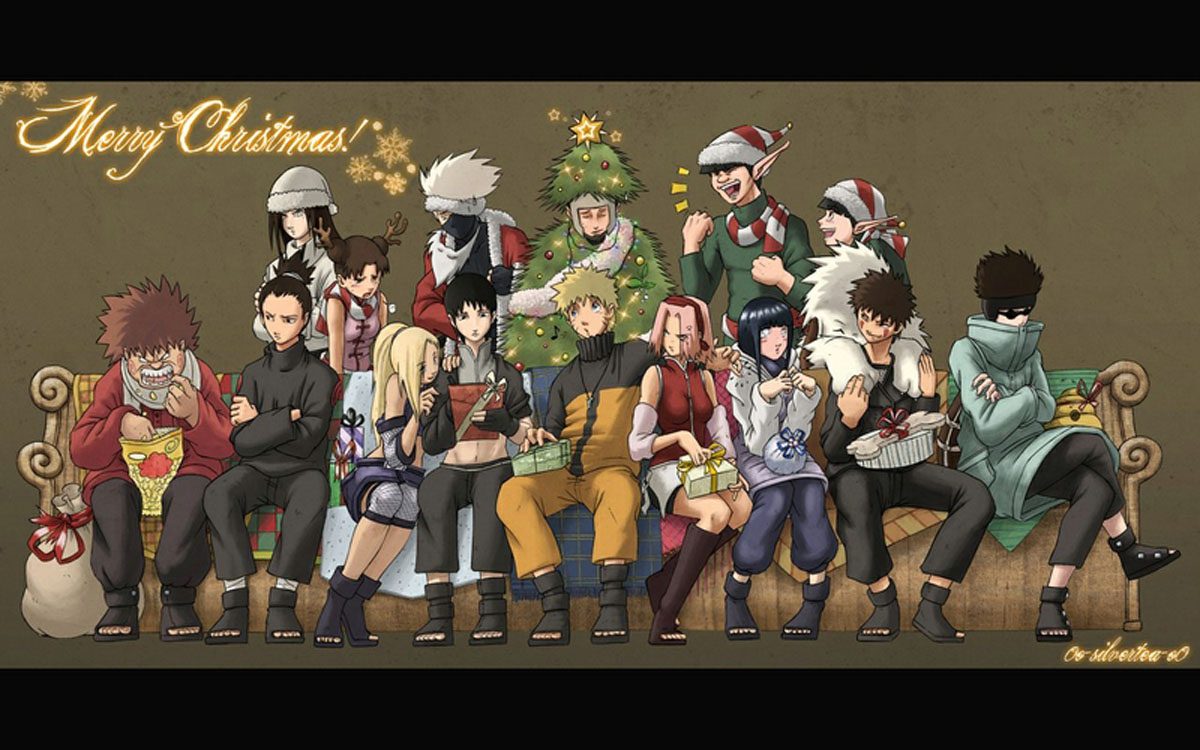 Free Download Naruto Characters Christmas Anime Hd Wallpaper Desktop Pc Background 1200x750 For Your Desktop Mobile Tablet Explore 44 Anime Christmas Wallpaper Hd Manga Wallpaper Cool Anime Wallpapers Epic Anime Wallpaper
