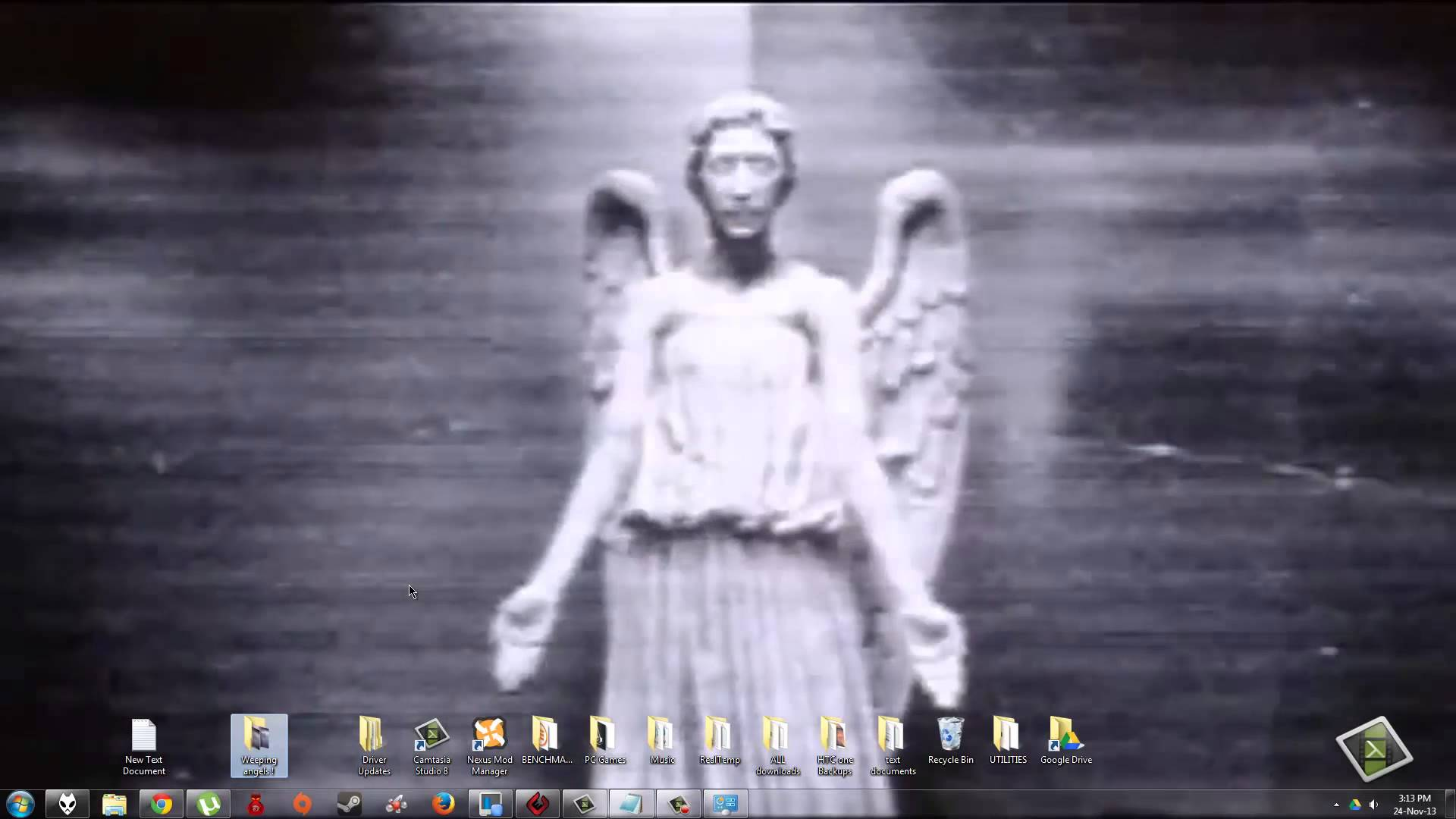 48 Weeping Angels Animated Wallpaper On Wallpapersafari