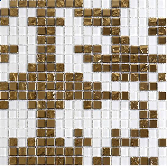 Backsplash Floor Mosaic Art Tile Design Sample ToolsQA009 548x545