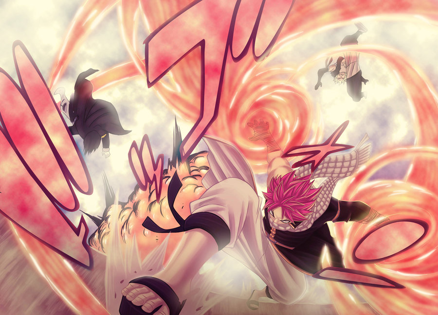 Cheney vs Natsu Dragneel Your daily Anime Wallpaper and Fan Art 900x648