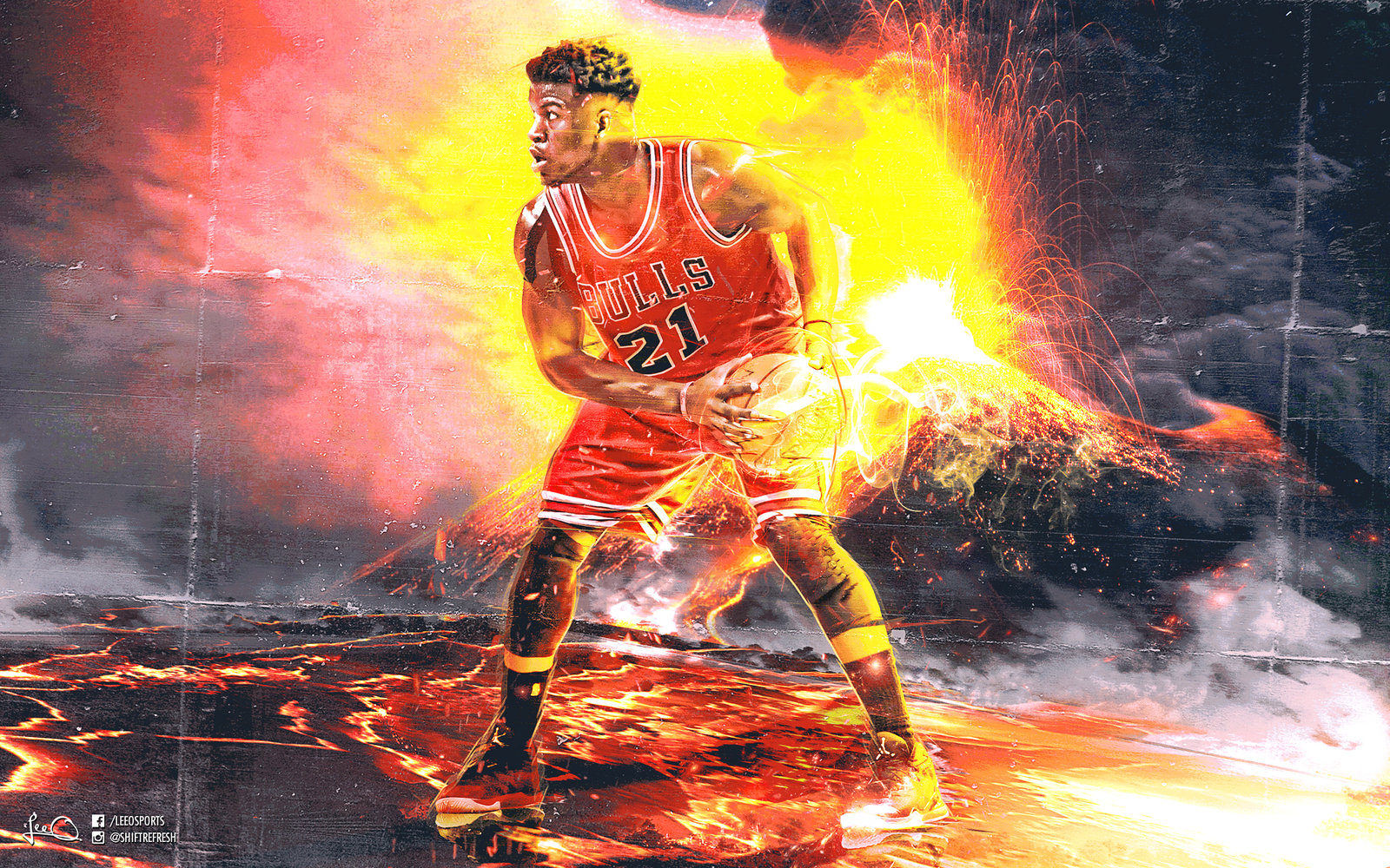 Jimmy Butler NBA Wallpaper by skythlee 1600x1000