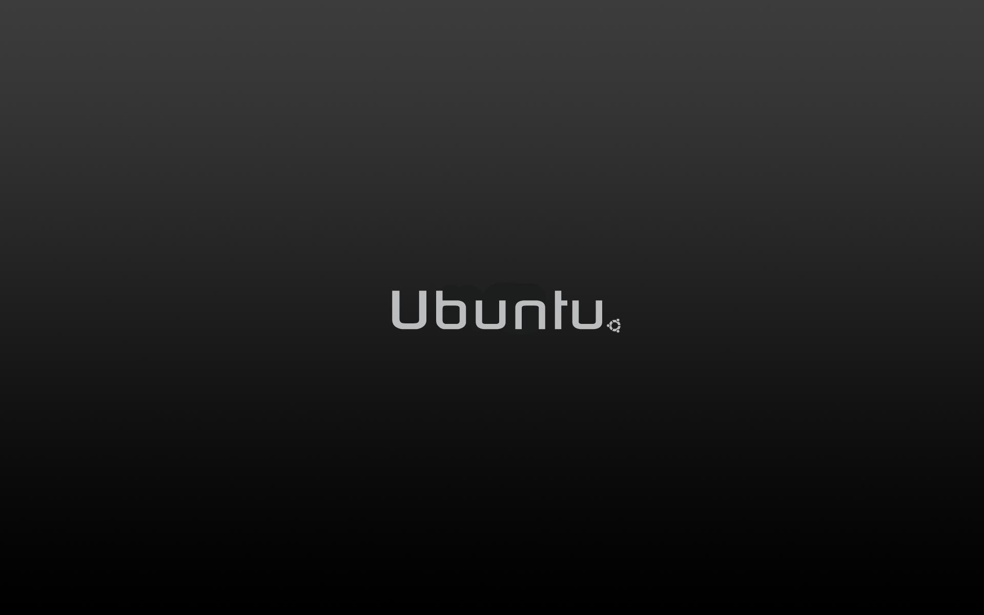 Ubuntu Dark wallpaper 9310 1920x1200