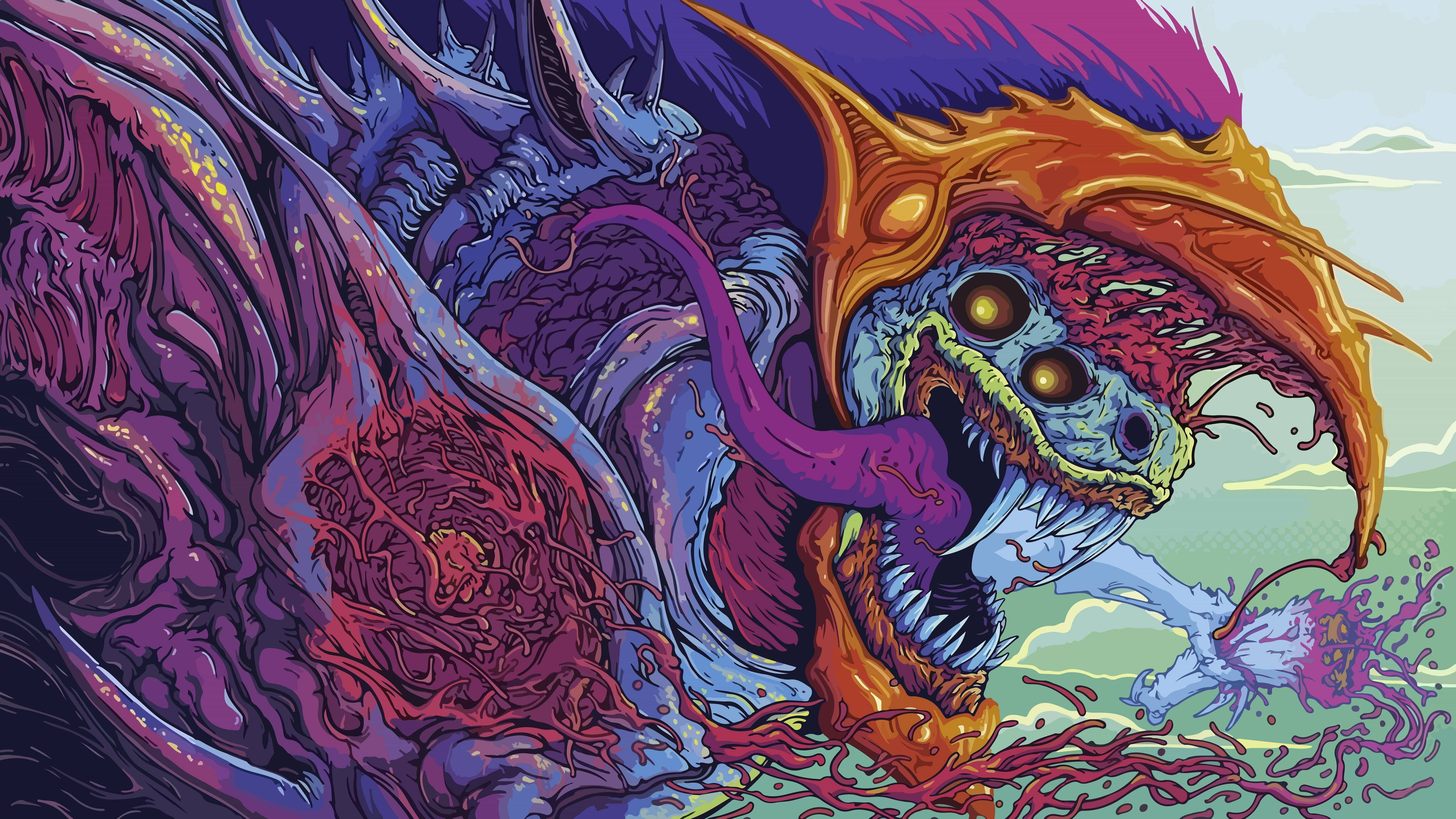Hyper Beast 5000x2813 Anyone know of more wallpapers like this 5000x2813
