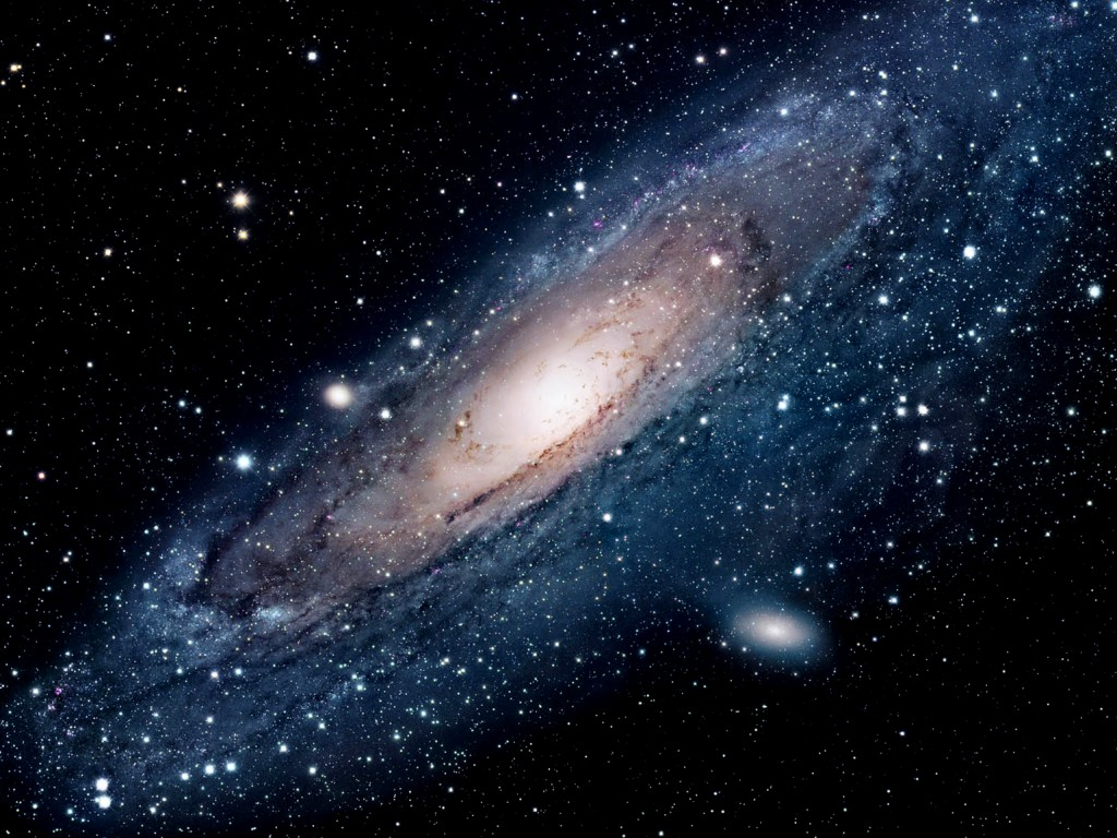 Andromeda Galaxy wallpaper 1024x768
