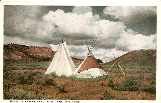 Apache Indian Warriors in New Mexico 545x349