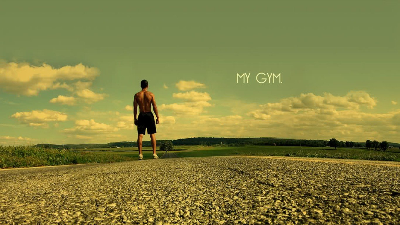Gym Alone HD Wallpaper Fitness Sad boy HD Wallpapers HD Wallpaper 1366x768