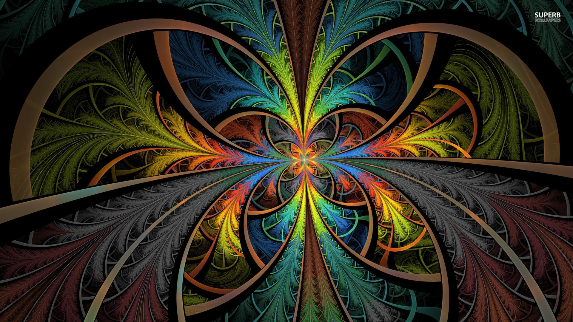 psychedelic hd wallpaper widescreen 1920x1080