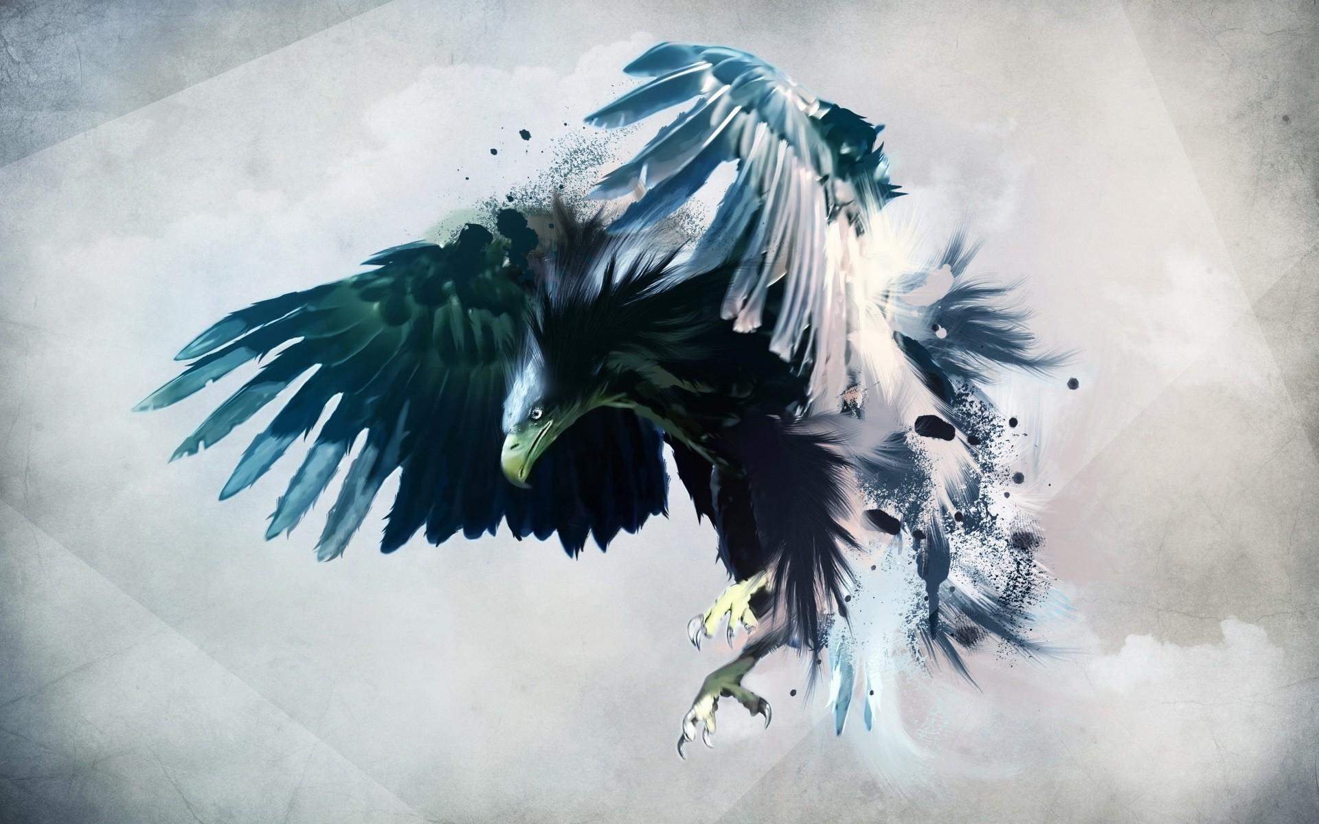 eagle Artwork Digital Art Wallpapers HD Desktop and 1920x1200