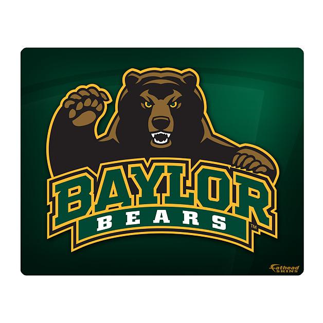 Baylor Bears Logo 1516 Laptop Skin Shop Fathead for Baylor Bears 628x628