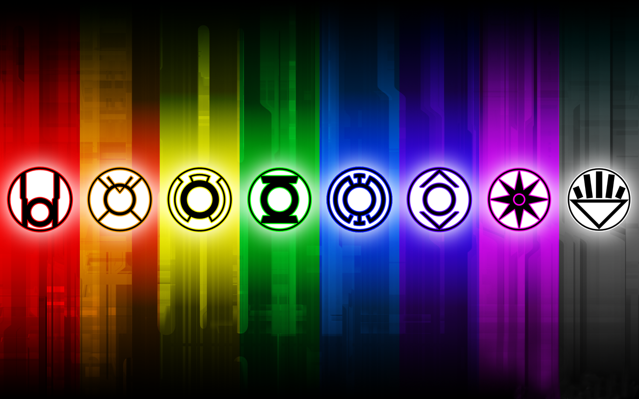 The Green Lantern Corps wallpaper 18391 1280x800