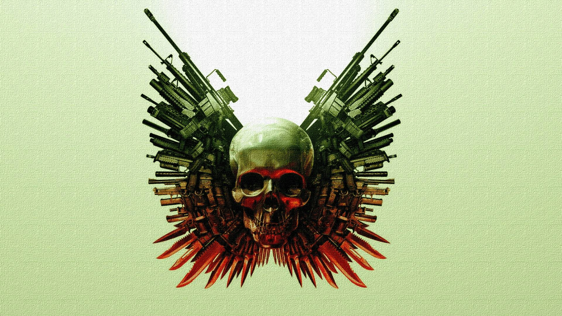 Skulls And Guns Wallpapers 1920x1080