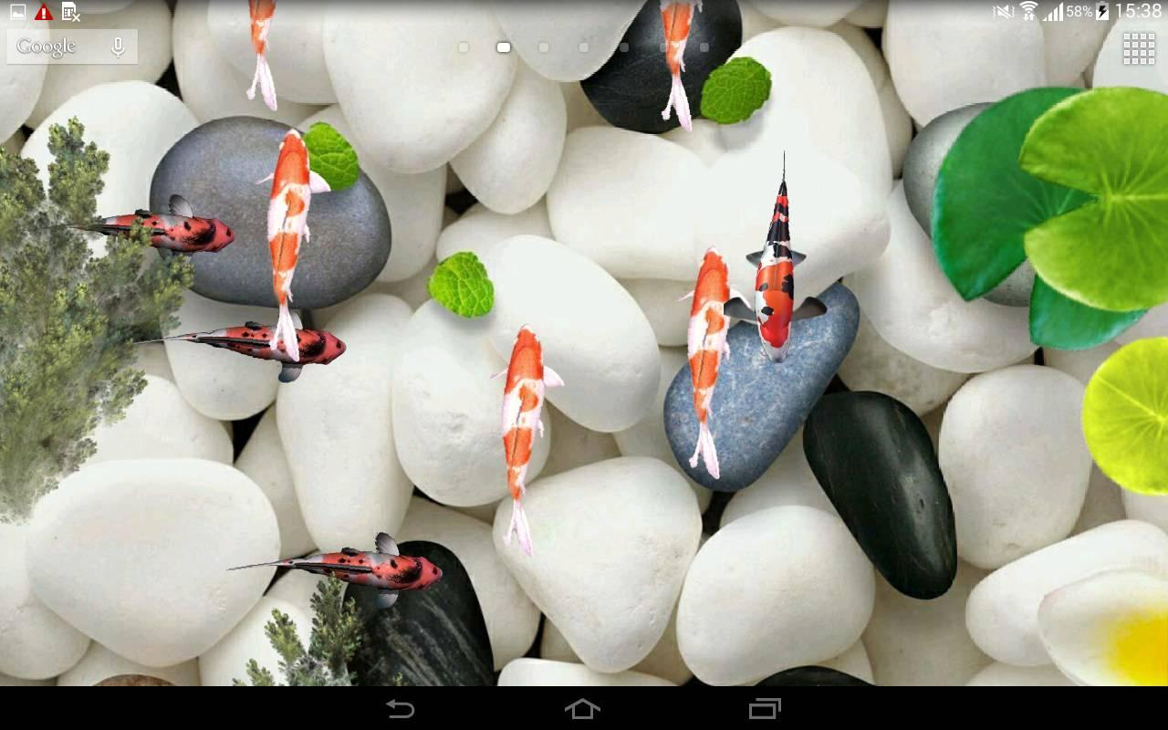 Koi Fish Live Wallpaper 3D for Android   APK Download 1280x800