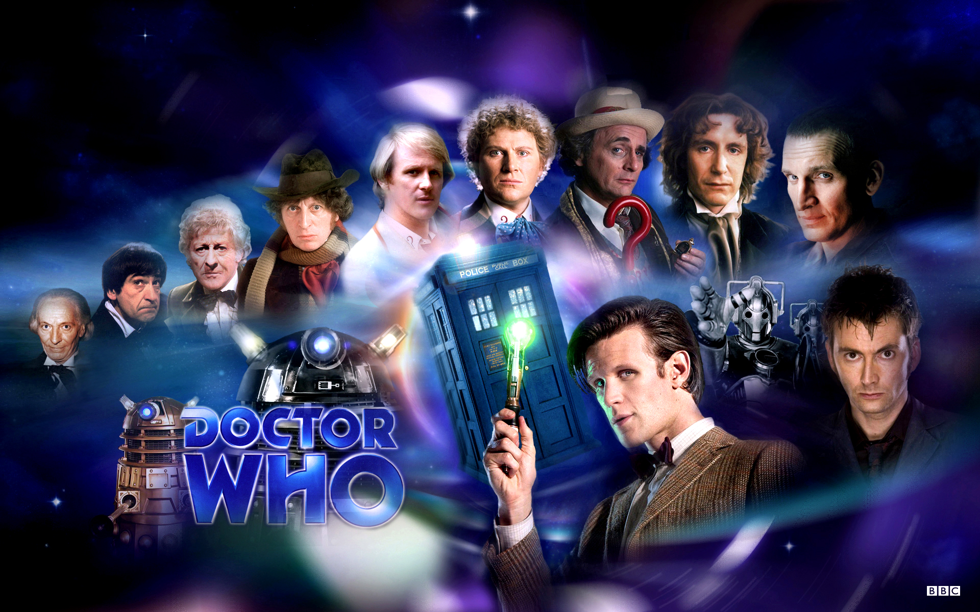 Doctor Who   All Doctors by 1darthvader 1920x1200